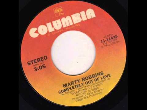 Marty Robbins - Completely Out Of Love