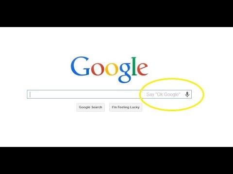 How to enable Ok Google on Google chrome?(New)