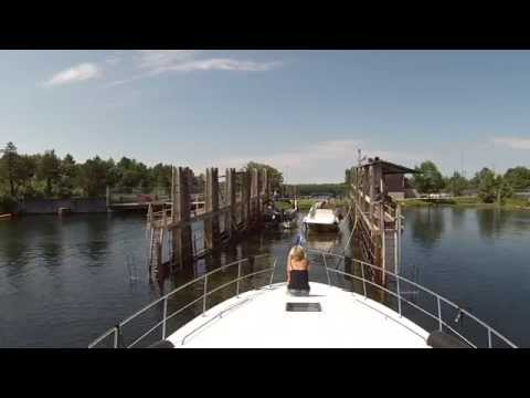 Boating Voyage - Swift Rapids Lock To Port Severn