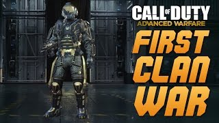 Call of Duty: Advanced Warfare - FIRST CLAN WAR ANNOUNCED - DEC. 5-8TH - EXO REWARD