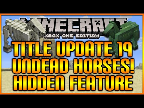how to get a zombie horse in minecraft ps3
