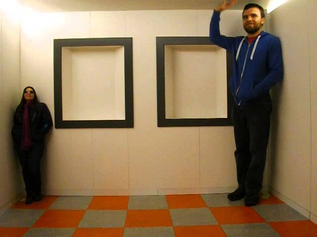 Adelbert Ames Room Ames Room Illusion