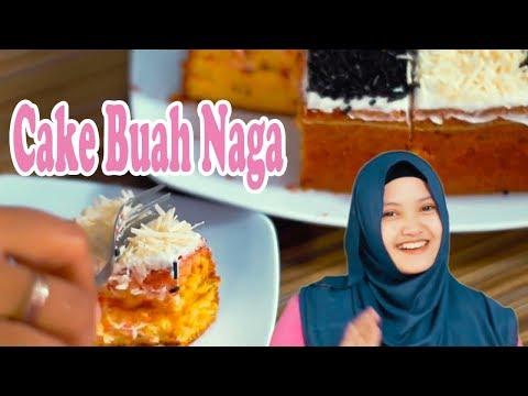 Resep Membuat Cake Buah Naga Oven Lembut  # Edisi Bulan Ramadhan 2018