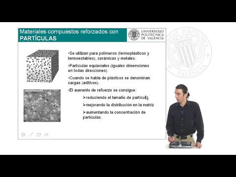 Ciencias de los Materiales 21. Polimeros y Compuestos. Mat. compuestos: tipos y clasificación.© UPV