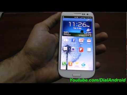 Samsung Galaxy S3 Secret screen capture trick - Hardware key combination