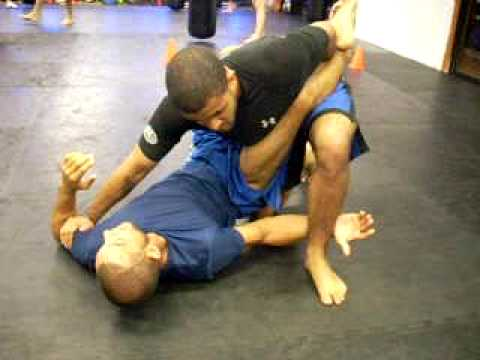 Submission Grappling - Guard to Arm Bar Transition Image 1