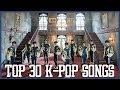 [Fan Chart] TOP 30 K-POP SONGS - JANUARY 2018 (WEEK 3)