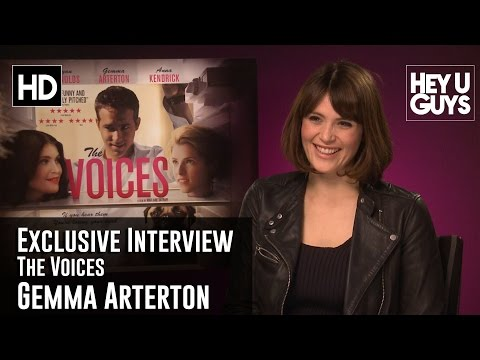 Gemma Arterton Exclusive Interview - The Voices