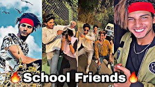 Tiktok 🔥School Friends🔥 ft. Amaan Hashmi |Latest going viral Tiktok Dont Get Emotional After this|