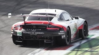 Porsche 991.2 RSR GTE: The best and loudest sounding WEC 2018/2019 race car!