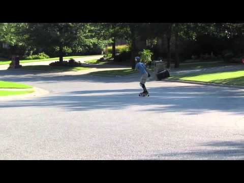Fall Longboarding