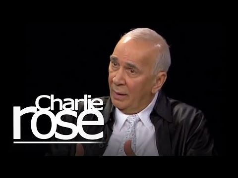 Frank Langella talks with Charlie Rose
