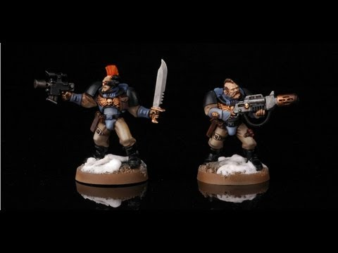 How to paint Space Wolves Scouts? Warhammer 40k Painting tutorial Buypainted