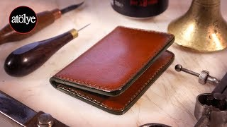 make a leather wallet   rfid protected