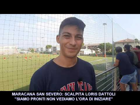 VIDEO-INTERVISTA : MARACANA SAN SEVERO SCALPITA LORIS DATTOLI