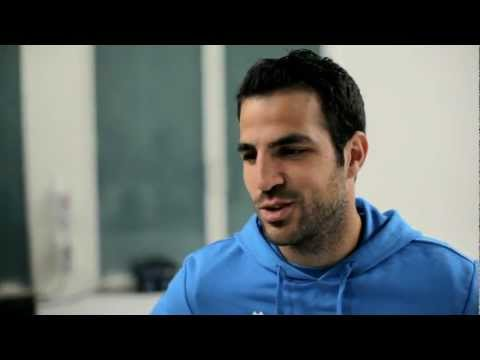 Cesc Fabregas takes on PUMA Race Off!