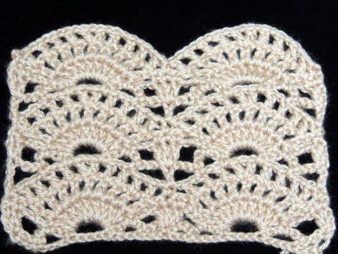 Crochet : Punto Abanico # 2