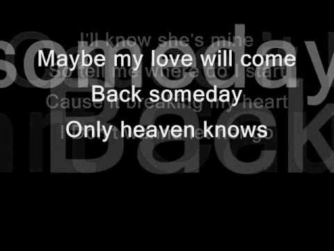 Heaven KnowS by: Jed Madela w/ lyrics