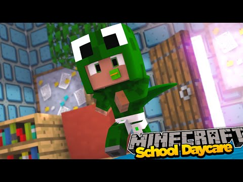 Minecraft School Daycare - BABY ESCAPES THE DAYCARE!