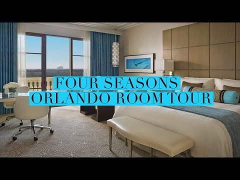 Four Seasons Orlando Resort Room Tour at Walt Disney World