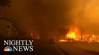 Mailman Returns To Route After CA Wildfires | NBC Nightly News