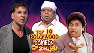 Top 10 Bollywood Comedy Scenes - Akshay Kumar - Paresh Rawal - Johnny Lever - Superhit Comedy Scenes