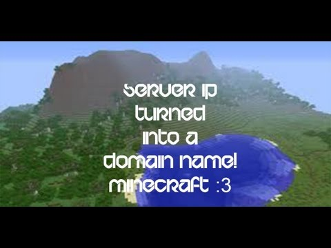 How to change your Minecraft Server IP into a Domain name for free!