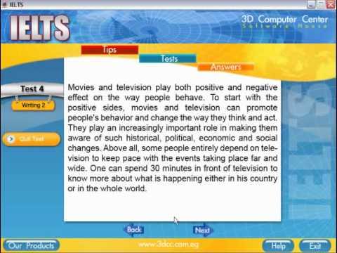تعليم اللغة الانجليزية اسطوانة اجتياز اختبارات IELTS