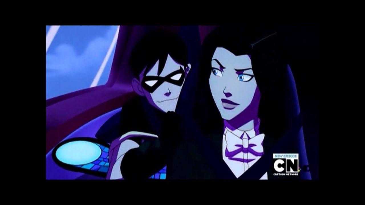 Zatanna And Robin Young Justice Robin and Zatanna - Young