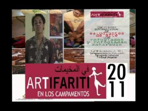 I Encuentro Internacional de Estudiantes de ARTe con refugiados y refugiadas saharauis