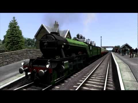 Railworks 3 Gameplay {HD}- Flying Scotsman on Settle and Carlisle