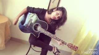 Raja Ko Rani Se Pyar   guitar   cover song   shubhangi pant