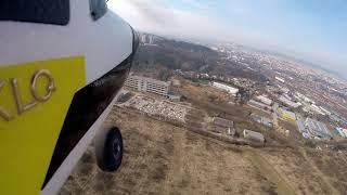Lom Hády z pohledu RC letadla Pioneer