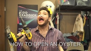 How To Open An Oyster!