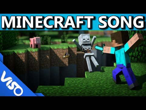 """PVP"" Original Minecraft Song (Minecraft Music Video)"