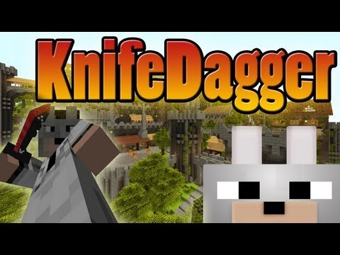 Minecraft Mods - KnifeDagger 1.3.2 Review and Tutorial