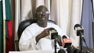 Gambie | Conférence de presse de Halifa Sallah