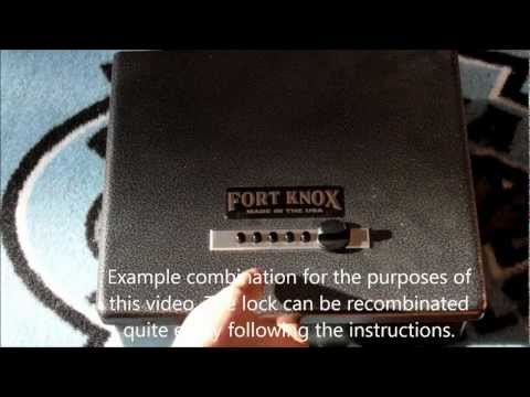 (134) Fort Knox Pistol Box -- Product Review
