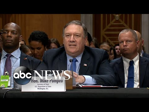 Lawmakers grill Pompeo over Trump-Putin meeting