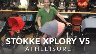 Stokke Xplory v5 Stroller 2017 in Athleisure | Reviews | Ratings | Comparisons