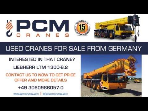 LIEBHERR LTM 1300-6.2 2015 FOR SALE USED CRANE BUY LIEBHERR LTM 1300-6.2 VERKAUFEN & KAUFEN
