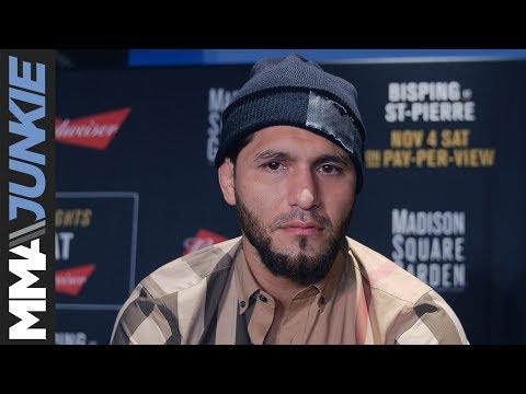 Jorge Masvidal full pre-UFC 217 interview