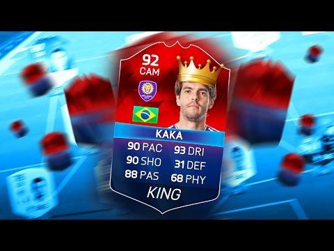 CLASSIC IMOTM HERO KAKA! 92 RATED! THE KING OF FIFA 16 ULTIMATE TEAM!!