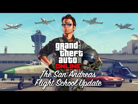 Grand Theft Auto Online: The San Andreas Flight School Update