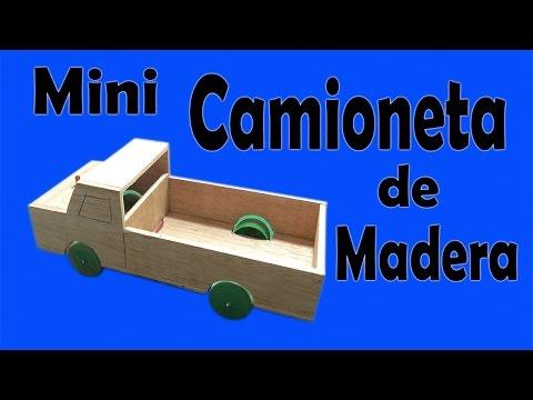 Cómo Hacer Una Camioneta Casera de Madera (Muy fácil de hacer)