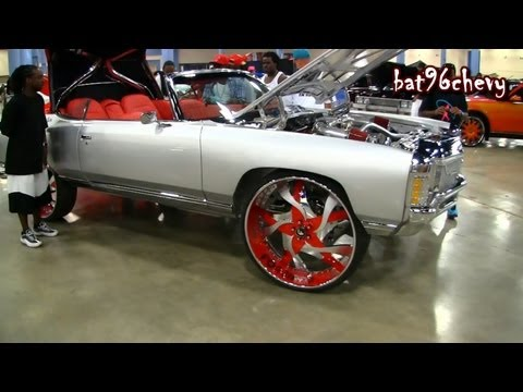 "CUSTOM 1971 Impala Donk Vert on 30"" Forgiatos Misto Wheels - 1080p HD"
