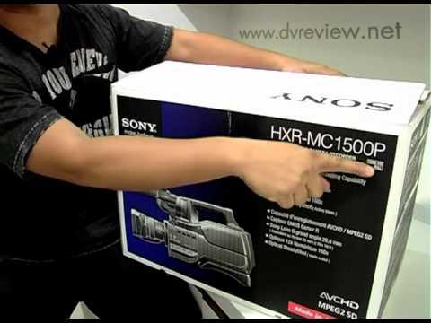 SONY HXR-MC1500P : PART 1