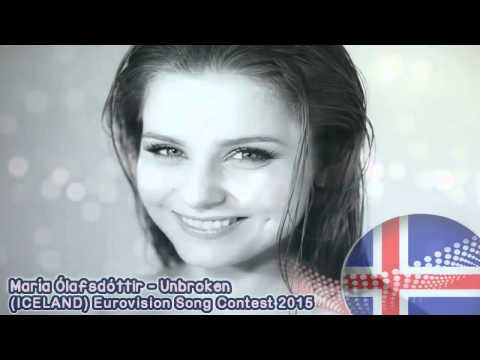 Eurovision Song Contest 2015 ICELAND- Maria Olafsdóttir- Unbroken  (audio HD official song)