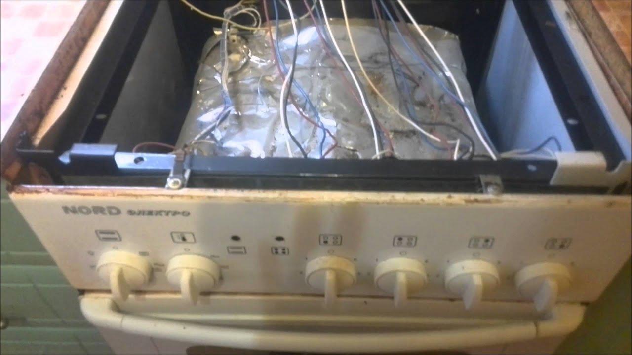 Ремонт электроплиты мечта с духовкой своими руками