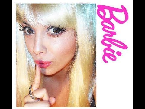 Barbie Makeup Tutorial Barbie Doll Makeup up Tutorial
